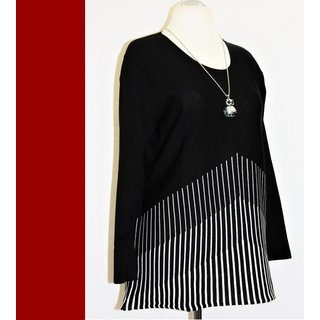 NEU Jersey Shirt Tunika schwerer Jersey MONA LISA A-Linie XXL