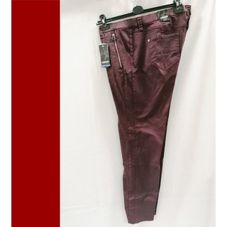 KJ Brand - JEANS Betty CS Röhre  - bordeaux - Stretch - NEU -  XXL