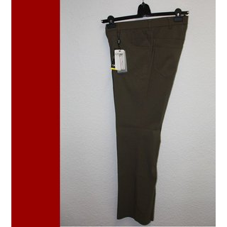 kJ Brand - Hose Stretch Bengalin  Betty -  oliv  - Kurzgröße